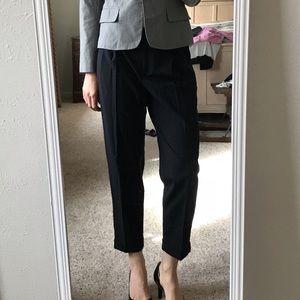 J crew city fit wool suit pants
